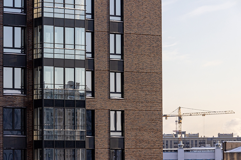 Представлены фотографии хода строительства по состоянию на 5 февраля 2021 года